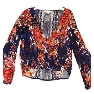 Love Stitch Floral Blouse